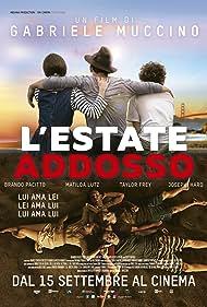 Brando Pacitto, Taylor Frey, Matilda Anna Ingrid Lutz, and Joseph Haro in L'estate addosso (2016)