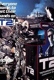 Terminator 2: The Arcade Game Poster