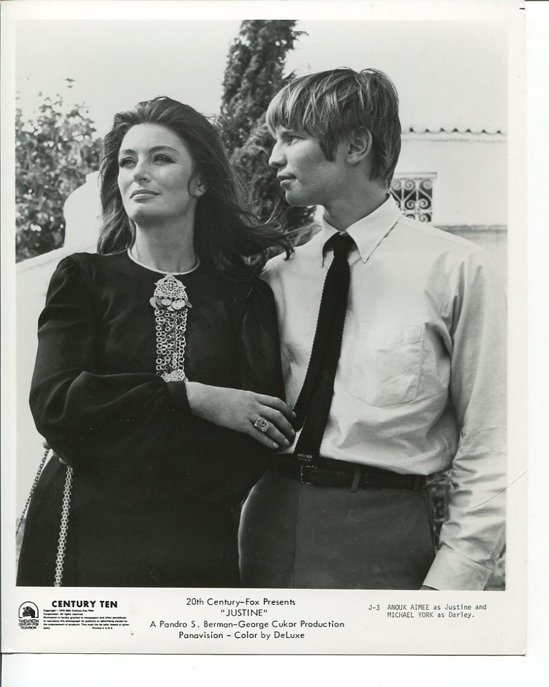 Anouk Aimée and Michael York in Justine (1969)