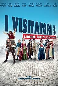 Jean Reno, Christian Clavier, Marie-Anne Chazel, Franck Dubosc, Sylvie Testud, and Karin Viard in Les visiteurs: La révolution (2016)