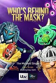 Morten Harket, Lenny Henry, Sue Perkins, Sophie Ellis-Bextor, and Joss Stone in The Masked Singer UK (2020)