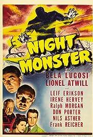 Night Monster(1942) Poster - Movie Forum, Cast, Reviews