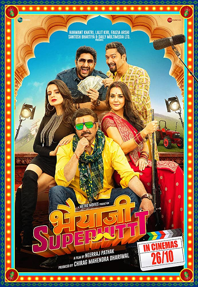 Download Bhaiaji Superhit (2018) Hindi DVDScr 700MB x264