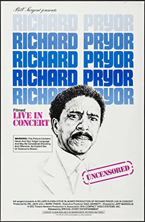 Where to stream Richard Pryor: Live in Concert