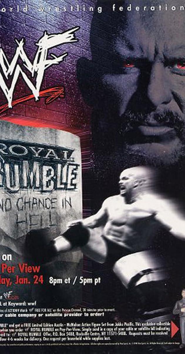 WWF Royal Rumble: No Chance in Hell (1999) - IMDb