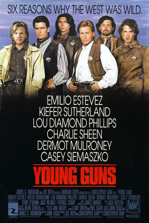ดูหนังออนไลน์ Young Guns (1988)