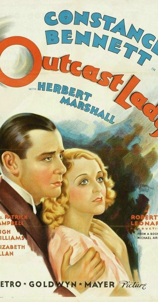 Outcast Lady (1934) - IMDb