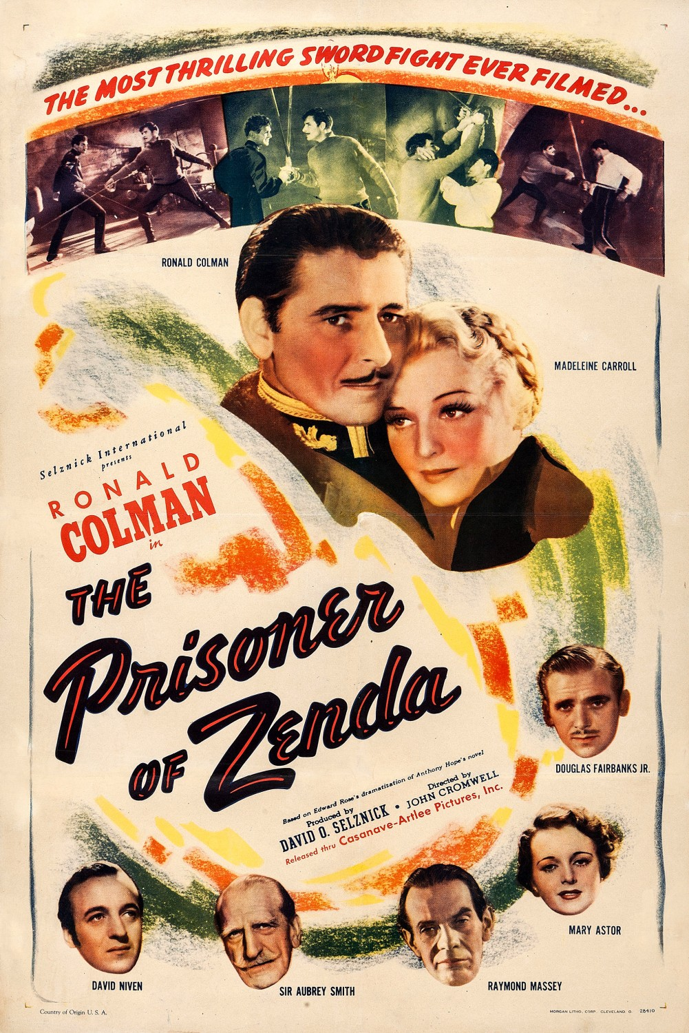 the prisoner of zenda full movie 1937