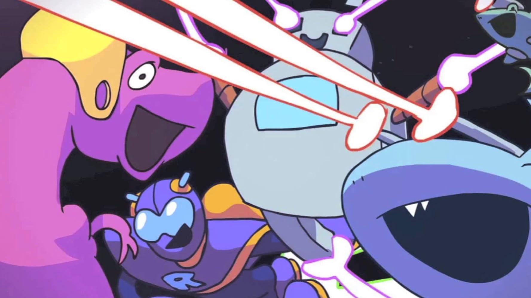 Ninja sex party dinosaur laser fight foto 7