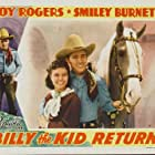 Roy Rogers, Lynne Roberts, and Trigger in Billy the Kid Returns (1938)