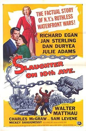 Film-Noir Slaughter on 10th Avenue Movie