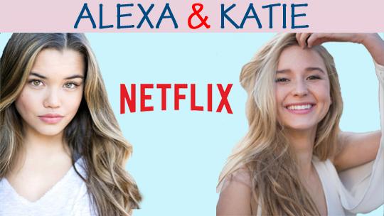25d1071659c59e Paris Berelc and Isabel May in Alexa   Katie (2018)
