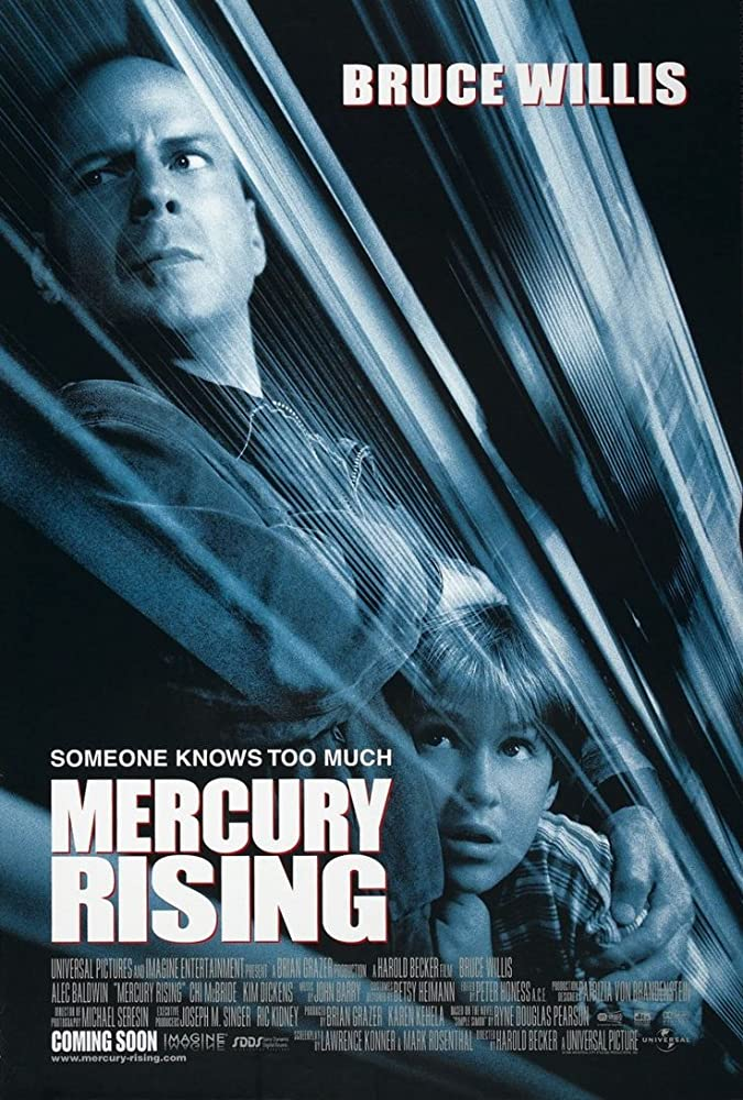 Mercury Rising (1998) Dual Audio Hindi 350MB BluRay 480p x264 ESubs