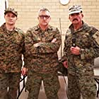 Graham K. Furness, Darrell Plumridge, and Daniel Ilija James in Battalion (2018)