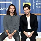 Ben Whishaw and Aneil Karia at an event for The IMDb Studio at Acura Festival Village (2020)