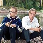 Pertti Koivula and Jani Volanen in Kaverille ei jätetä (1999)