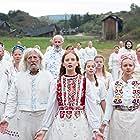 Mats Blomgren, Lars Väringer, Anna Åström, and Isabelle Grill in Midsommar (2019)