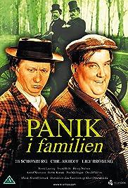 Panik i familien Poster