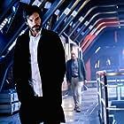 Patrick Stewart and Santiago Cabrera in Star Trek: Picard (2020)