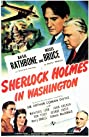 Sherlock Holmes in Washington (1943) Poster