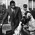 Sidney Poitier, Haskell Wexler, and Norman Jewison in In the Heat of the Night (1967)