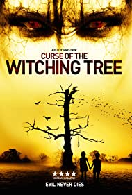 UK DVD Artwork for Curse of the Witching Tree