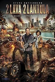 Steve Guttenberg, Marion Ramsey, and Michael Winslow in 2 Lava 2 Lantula! (2016)