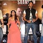 Hiten Tejwani, Rajniesh Duggall, and Sonarika Bhadoria at an event for Saansein: The Last Breath (2016)