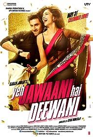 Ranbir Kapoor and Deepika Padukone in Yeh Jawaani Hai Deewani (2013)