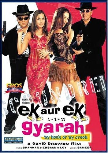 Ek Aur Ek Gyarah 2003 Hindi Movie 400MB HDRip 480p ESubs Download