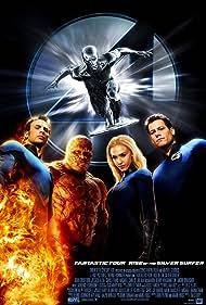 Laurence Fishburne, Jessica Alba, Michael Chiklis, Chris Evans, Ioan Gruffudd, and Doug Jones in 4: Rise of the Silver Surfer (2007)