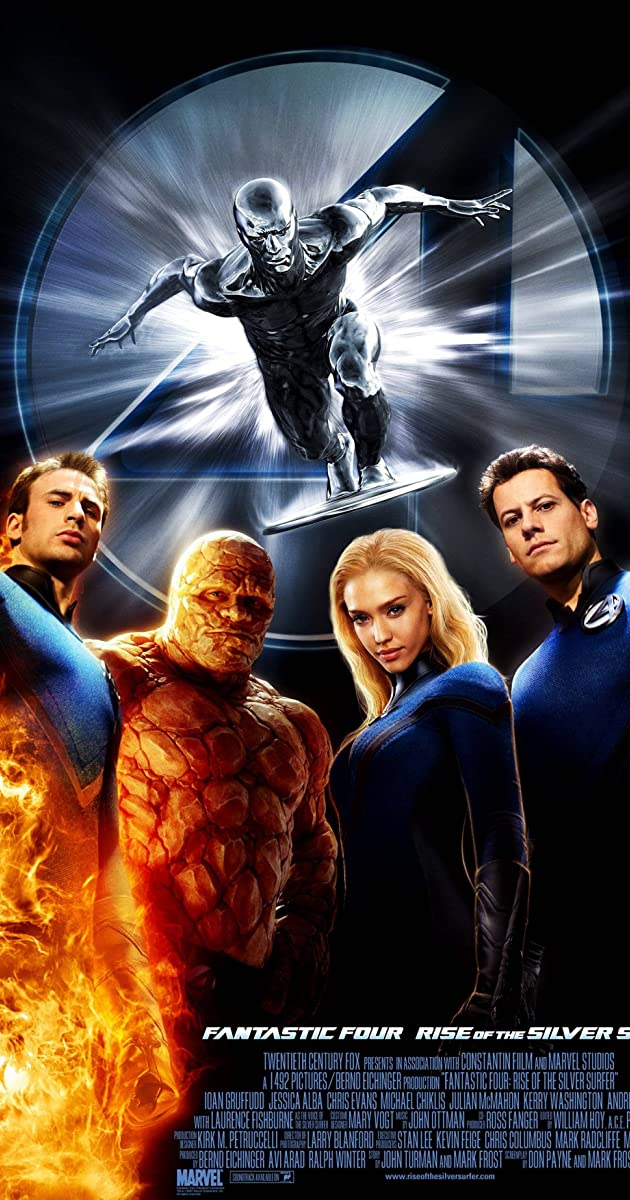 Play or Watch Movies for free Fantastic 4: Rise of the Silver Surfer (2007)