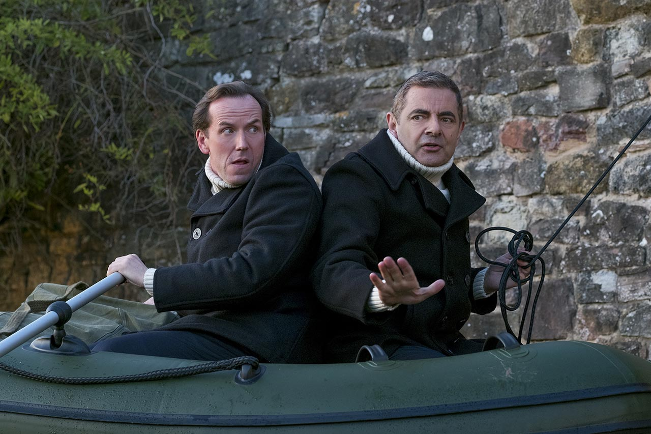 Rowan Atkinson and Ben Miller in Johnny English Strikes Again (2018)