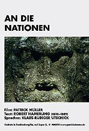 An die Nationen Poster