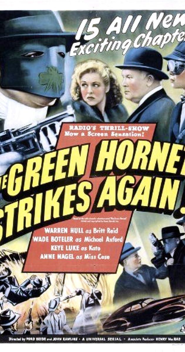 The Green Hornet Strikes Again! (1940) - IMDb
