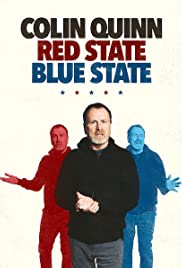 Colin Quinn: Red State Blue State Poster - TV Show Forum, Cast, Reviews