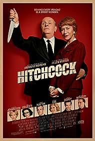 Anthony Hopkins, Helen Mirren, Michael Wincott, Toni Collette, Jessica Biel, James D'Arcy, Danny Huston, and Scarlett Johansson in Hitchcock (2012)