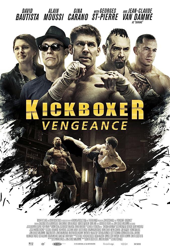 Poster film Kickboxer: Vengeance
