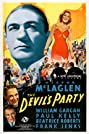 The Devil's Party (1938) Poster