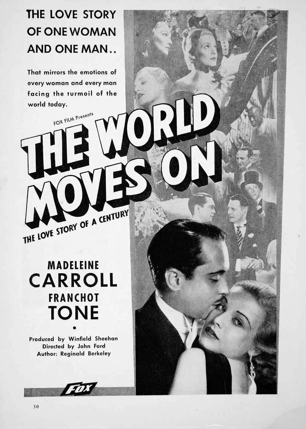 Image result for The World Moves On 1934 carroll and tone in bed