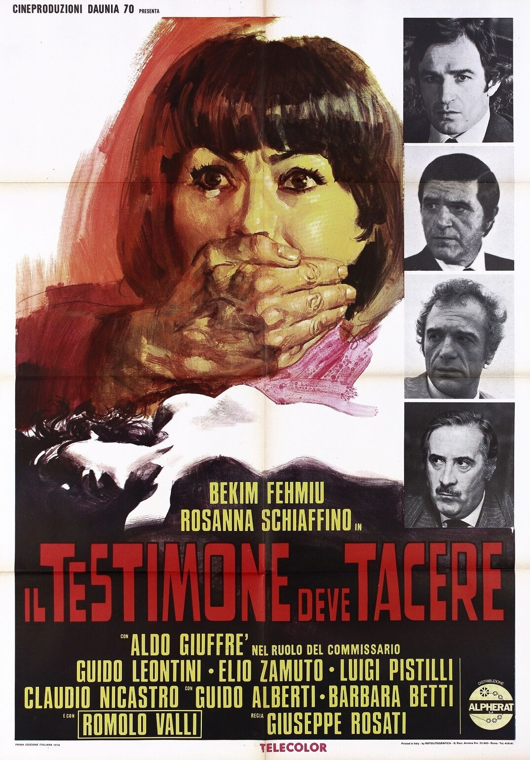 Il testimone deve tacere (1974)