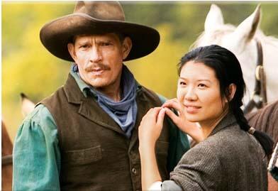 Thomas Haden Church and Jadyn Wong in Broken Trail (2006)