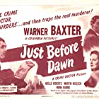 Warner Baxter, Martin Kosleck, George Meeker, and Adele Roberts in Just Before Dawn (1946)