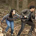 Samy Seghir and Sofia Lesaffre in La terre et le sang (2020)