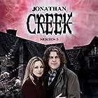 Sarah Alexander and Alan Davies in Jonathan Creek (1997)