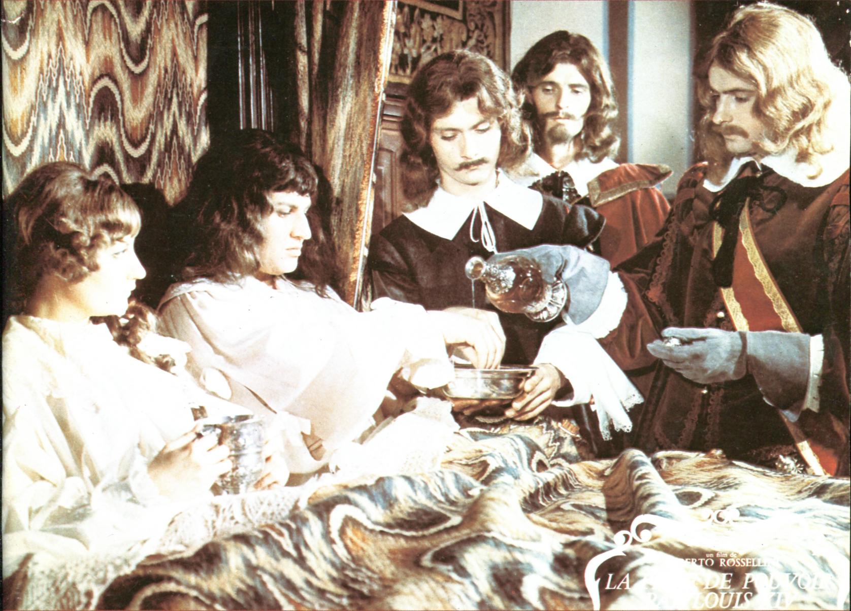 Jean-Marie Patte and Katharina Renn in La prise de pouvoir par Louis XIV (1966)