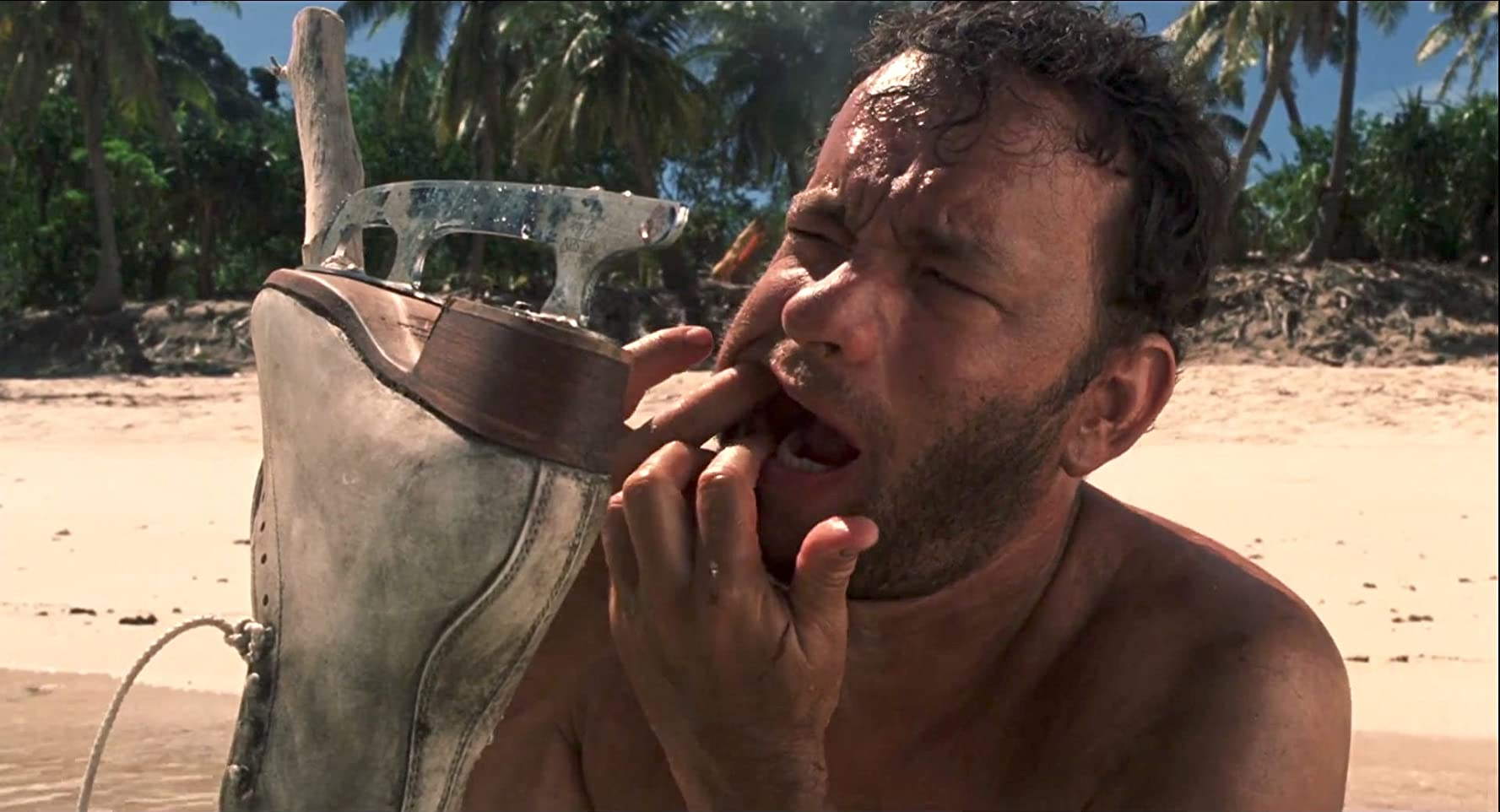 Tom Hanks in Cast Away (2000)
