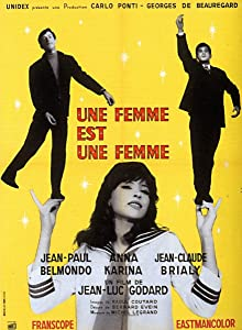 Legal divx movie downloads Une femme est une femme by Jean-Luc Godard [2k]
