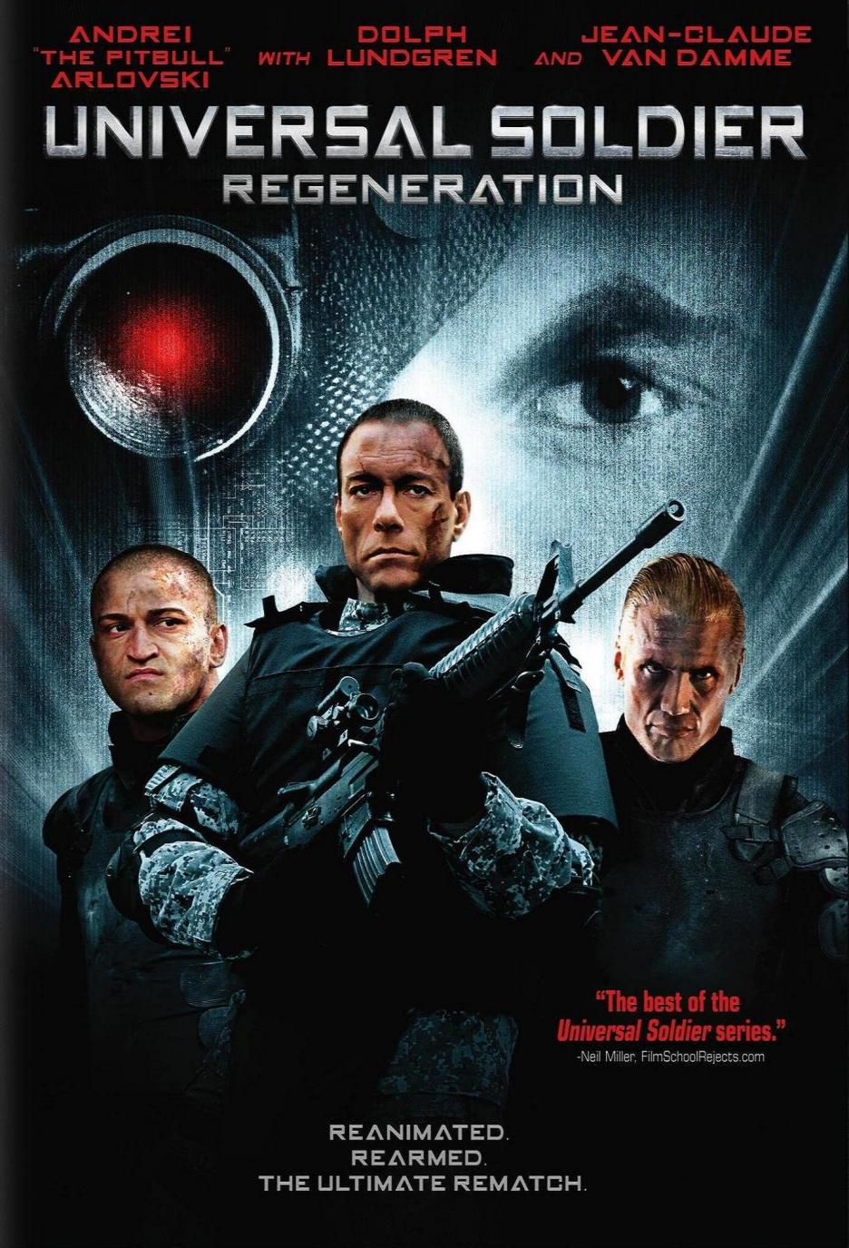 Universalus karys: Atgimimas / Universal Soldier: Regeneration (2009) Online