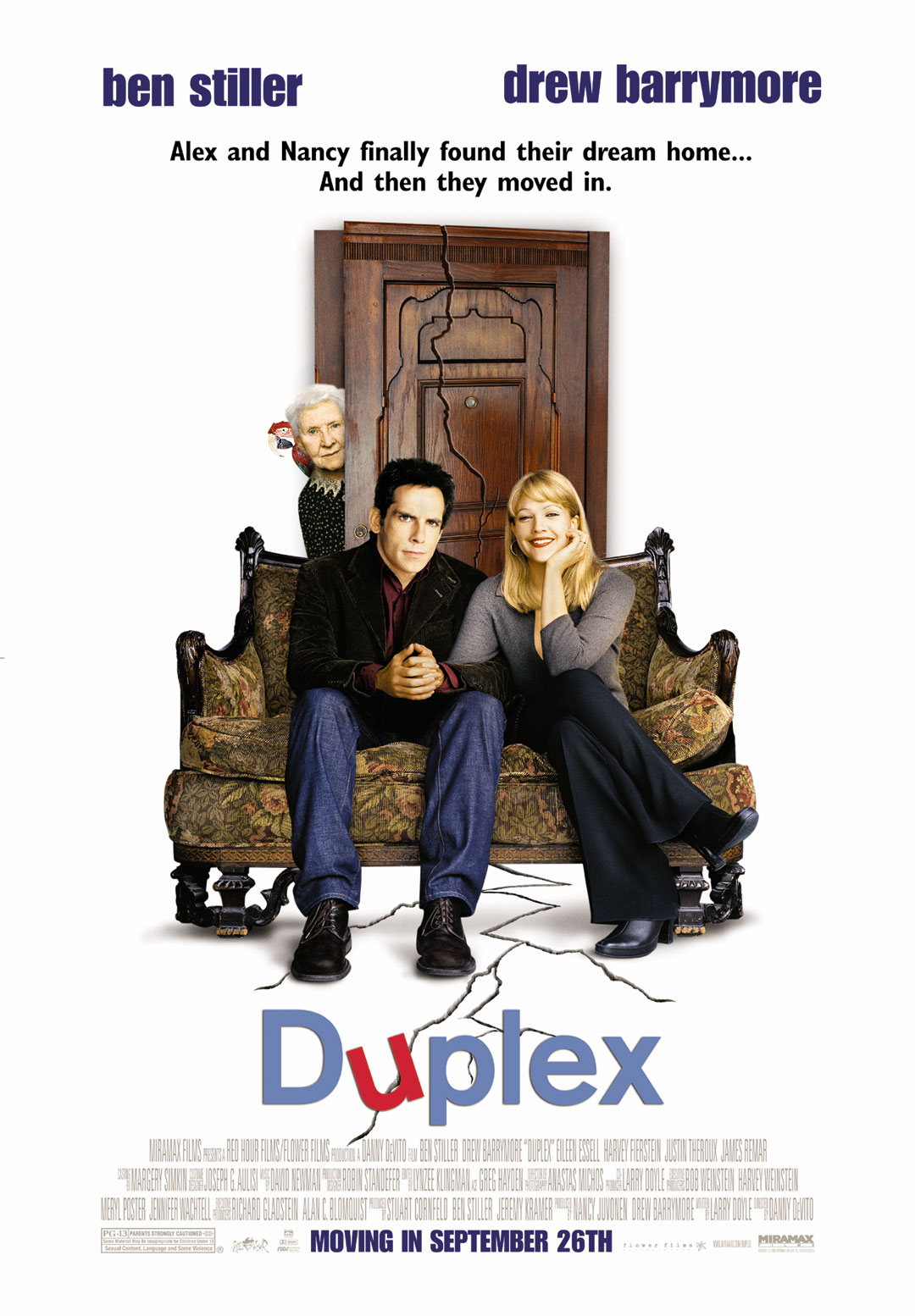 Image result for duplex movie poster